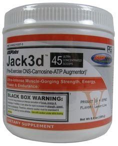 USP Labs Jack3d Pre Workout 250 Grams (7 Amazing Flavors) l Rock Bottom Fitness