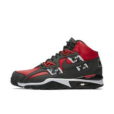 the latest fd0dc 65136 NIKE Mens Air Trainer SC High SOA Shoes Speed Red Black White AQ5098-