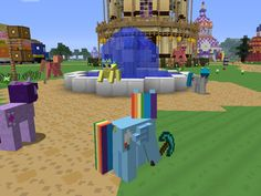 Mine Little Pony 1.6.4 Mod Minecraft 1.6.4/1.6.2 - http://www.minecraftjunky.com/mine-little-pony-1-6-4-mod-minecraft-1-6-41-6-2/