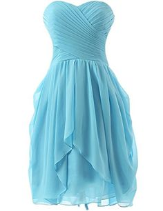 Olidress Women's Short Ruched Chiffon Bridesmaid Dress Pa... https://www.amazon.com/dp/B01BNF4P4M/ref=cm_sw_r_pi_dp_x_E50WybFZXA6Q3