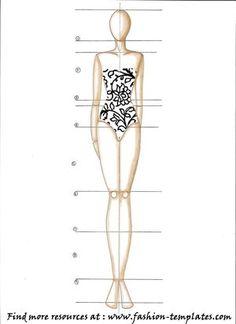 Como desenhar croquis de moda
