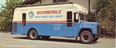 On National Bookmobile Day I thought I would feature some Monolite bookmobile postcards. Library Week, Free Library, Bucks County, Harvester, 1960s, Trucks, History, Books, Historia