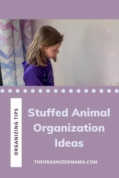 The Organized Kids show us how they organize and store their stuffed animals. Clear the clutter and learn to organize your stuffed animals easily! Check out our YouTube video where we show you how we organize our stuffed animals in the kids bedrooms. Kids Bedroom Organization, Playroom Storage, Small Space Organization, Playroom Organization, Organizing, Small Playroom, Kid Closet, Inspiration For Kids, Kids Shows
