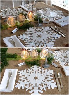 winter/holiday party plating options