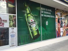 Commercial graphics are a fun addition to a building and an easy way to market for your company.