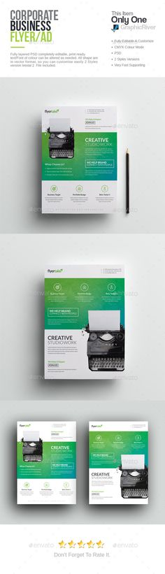 corporate flyer template pinterest flyer template template and