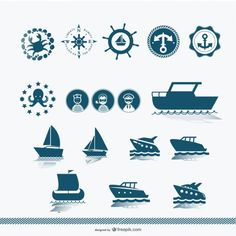 Schiff Silhouette Vektor Kostenlose Vektoren