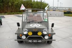 Mini Moke in military
