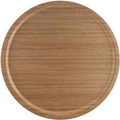 Ary Trays Viventium Oak Circular Tray - 49cm ($68) ❤ liked on Polyvore featuring home, kitchen & dining, serveware, wood, serving board, circular serving tray, serving trays, round serving tray and circular tray