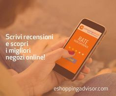 -- Valorizza la tua esperienza! La nostra mission? Fare in modo che la reputazione di un negozio online sia decisa sempre dalla rete.