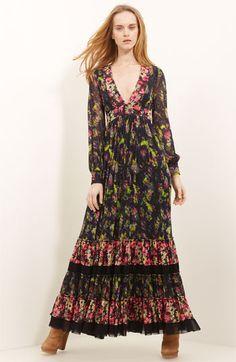 gaultier fall 2012 hippie dress