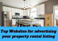 Where to Advertise Apartments for Rent Online. How do I list an apartment for rent? Top Websites for advertising your property rental list...