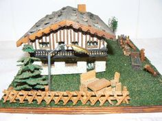 Engineering Scale, Making A Model, N Scale, Model Trains, Scale Models, Fairies, Layouts, Scenery, House Styles
