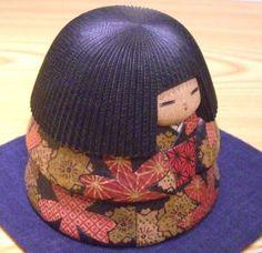 """Rakuten creative Kokeshi wooden base doll Watanabe Yuji's """"Hana Dojo"""", """"Senior Market Rakuten"""": of folk art and crafts shop Shimanuki"""