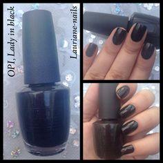 OPI, Lady in Black