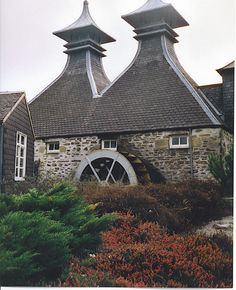 Strathisla Distillery water wheel, Scotland