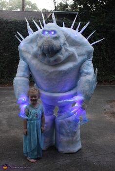 Frozen Marshmallow - DIY Halloween Costume