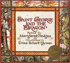 Fishpond Australia, Saint George and the Dragon by Trina Schart Hyman Margaret Hodges. Buy Books online: Saint George and the Dragon, ISBN Trina Schart Hyman Margaret Hodges Dragons, Saint George And The Dragon, Saint Georges, Thing 1, Children's Picture Books, Big Picture, Children's Literature, Book Nooks, Libraries