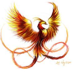 Fire Phoenix Tattoo Designs | Tattoo Design Ideas and Patterns