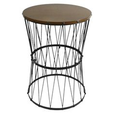 Delightful Bronze Wire Frame Tall Side Table With Glass Top   Overstock™ Shopping    Great Deals On Horizon Coffee, Sofa U0026 End Tables | For The Home | Pinterest  | House