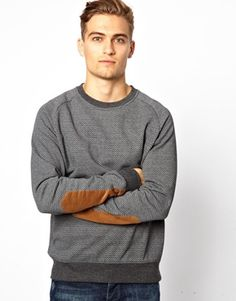 Shop New Look Sweatshirt with Herringbone Print at ASOS. Order now with multiple payment and delivery options, including free and unlimited next day delivery (Ts&Cs apply). Chevrons, Asos Men, Herringbone, New Look, Men Sweater, Sweatshirts, Sweaters, Shopping, Fashion