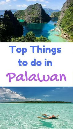 Top 10 things to do in Palawan, Philippines. | Beach Destinations | Asia Travel #top10traveldestinationsintheworld #asiatravel #asiadestinations