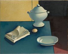 george rohner(1913-2000), still life with tureen, 1958. oil on canvas, 73 x 92.1 cm. the metropolitan museum of art, new york, usa http://metmuseum.org/