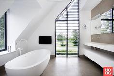 Sjartec Badkamers - Moderne villa met wellness - Hoog ■ Exclusieve woon- en tuin inspiratie.