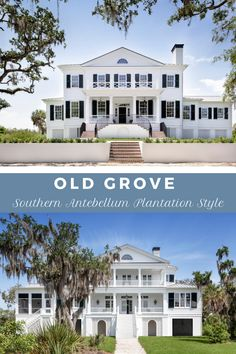 Old Grove - Nautilus Homes Back Porches, Gas Lanterns, Plantation Homes, Waterfront Homes, Nautilus, Home Photo, Entry Doors, Shutters, Home Projects