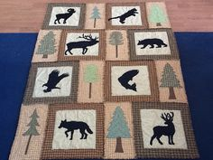 Love this rustic quilt - great for a mountain cabin