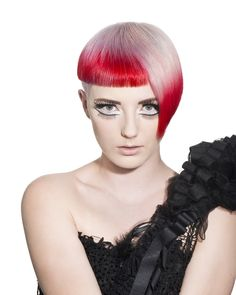 Danielle Blakeley, creative director of Yoshiko Hair in St. Kilda, Melbourne, Australia