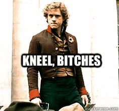 Enjolras after watching Avengers and becoming a Loki fan - gif (i think you can guess who's my favourite character)