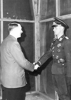 703 x 820 pixels - 52 KB Grand Admiral Karl Doenitz (right) receives from the hands of the leaders of the Third Reich of Adolf Hitler Oak Le. Heavy Cruiser, The Third Reich, Luftwaffe, World History, World War Two, Ww2, People, October, Biographies