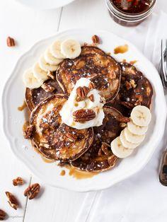 cinnamon winter pancakes.