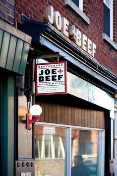 JOE BEEF featured on Montreal Restaurants Guide by Gail Simmons Joe Beef Montreal, Montreal Food, Montreal Ville, Montreal Quebec, Quebec City, Resto Montreal, O Canada, Alberta Canada, Canada Travel