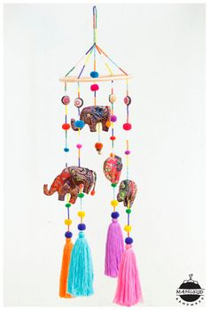 ideas for baby diy crib products Baby Crib Diy, Baby Girl Bedding, Baby Cribs, Tribal Elephant, Baby Elephant, Elephant Mobile, Mobiles, Home Decoracion, Hanging Mobile