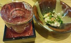 かわはぎの肝はコクがあるけどさっぱりで美味しい~やっぱり日本酒飲みたくなります【きもたんさん☆4月春の宴会】