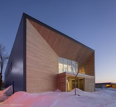 Image 3 of 12 from gallery of STGM Head Office  / STGM Architectes. Photograph by Stéphane Groleau