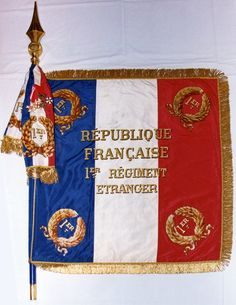 French Foreign Legion standard