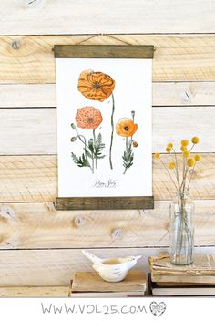 On Sale MINI // Vintage Inspired Science Posters  POPPY by vol25, $40.00
