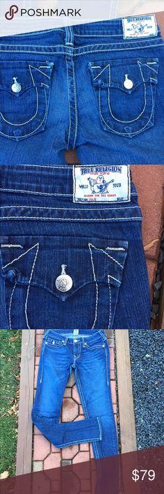 "True Religion Julie Jeans Size 30 Size 30. Inseam: 34"". RN:# 112790. CA# 30427 True Religion Jeans"