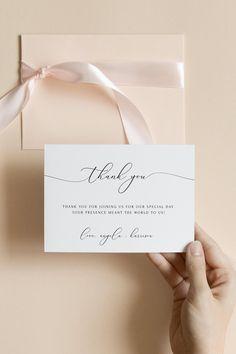 Printable Thank You Cards, Thank You Card Template, Card Templates, Applique Templates, Applique Patterns, Business Thank You Cards, Wedding Thank You Cards, Card Wedding, Wedding Invitation Templates