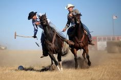 How the West is won: Marvin Kammerer pulls the trigger and American Polos second annual Tournament of Cowboys begins...