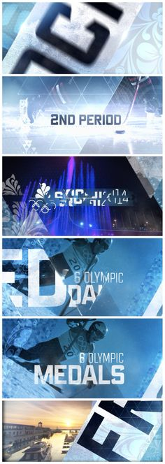 motion graphics/ storyboards/ styleframes | NBC Winter Olympic