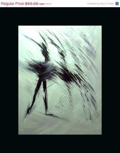 Abstract ballet ballerina