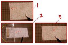 Tutorial für ein einfaches Täschchen mit nur 4 Nähten