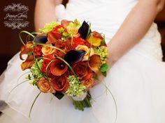 Fall wedding bouquet  Jeanine Glenn Photography Gail VanderLaan Floral
