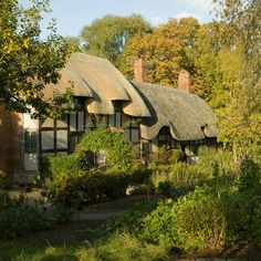 Did you know that when Shakespeare married Anne Hathaway she was three months pregnant and eight years his senior. Visit her cottage to find out more fascinating facts: