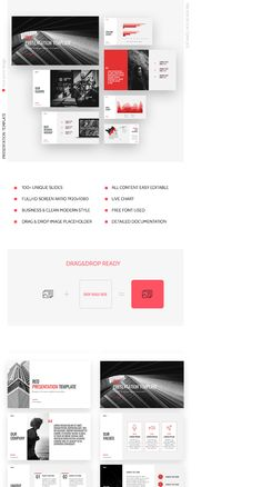 """Check out my @Behance project: """"Red Business Marketing Powerpoint Template"""" https://www.behance.net/gallery/59523431/Red-Business-Marketing-Powerpoint-Template"""