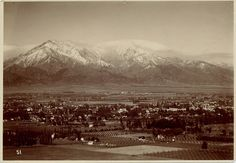 City of Claremont, Ca - circa 1910// here you can see why so many came to settle in California